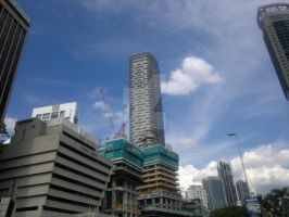Under the Towers in KL by BlastedFen