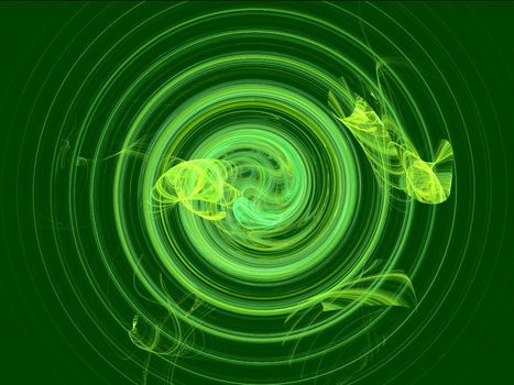 Spring Mint Spiral by ChaoticNemisis