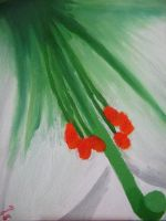 Flower Painting by caybeach