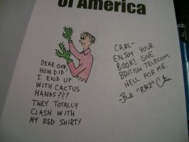 Oh No Cactus Hands by rbcp