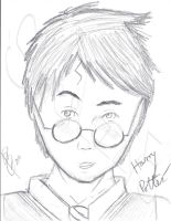 Harry Potter by SilverLizzy5