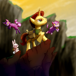 Lewis-Carrot by AI-battle-programer