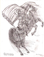 Annual joan of arc drawing by Utaleasha