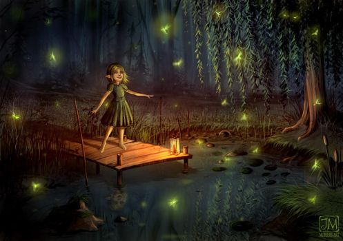 Fireflies by jerry8448