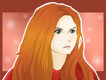 Amy Pond by darthfilart