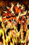 Night of the Fire Beast - Tricereus by DR-Studios
