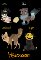 Halloween adoptables auctions by opori