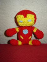 Iron Man by Ginger-PolitiCat
