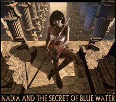 The Secret of Blue Water CG 03 by Karafactory