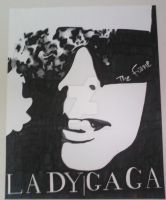 Lady Gaga Pen and Ink by Roxas5
