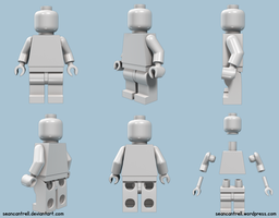Lego Minifigure by seancantrell