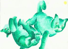 Cats 2 by narcotizedfear