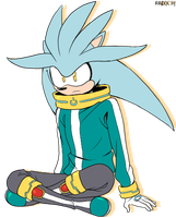 Off-Teal the Hedgehog by General-RADIX