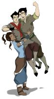 KORRA LOVE by QuiteBubbly