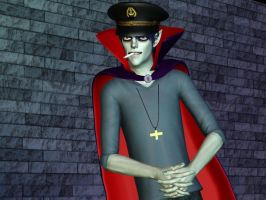 gorillaz - murdoc the sims3 by tyrblue