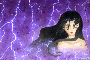 Azula, the Lightningbender by Yumemi91