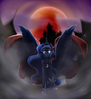Night of the moon. by otakuap