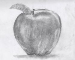 Drawing I - Apple by munjey86