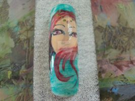 face on nail 3 by E-salbeinit
