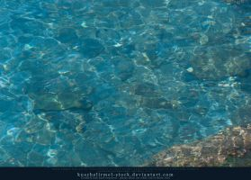 Water with light reflections 03 by kuschelirmel-stock