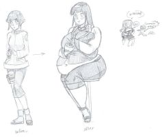 Hinata Before And After Wg by Errorman79
