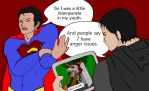 Man of Steel: And People Say I Have Anger Issues by ElvenWhiteMage
