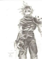 Cloud Strife by LadySephiroth