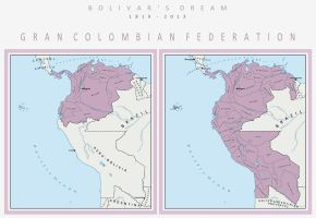 Gran Colombian Federation by DaFreak47