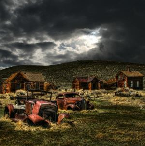 Bodie Ghost Town by La-Vita-a-Bella