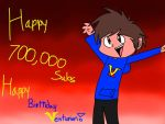 Happy 1 year/700,000subs/birthday Vent! (VT) by SuperCrome