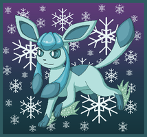 Glaceon by SHINXxPOOCHYENA