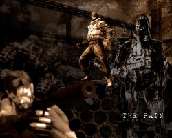 MGS3: The Pain by DjG-Wp