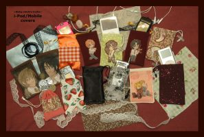 Fan-Crafts:i-Pod+Mobile Covers by Kinky-chichi