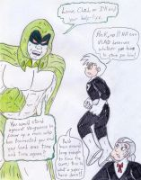 Danny Phantom vs The Spectre by Jose-Ramiro