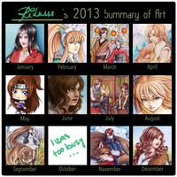 2013 Summary of Art by Ritusss