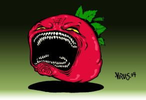 ATTACK OF THE KILLER TOMATOES by irishvirus