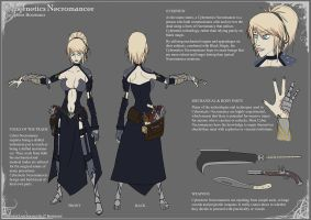 Cybernetics Necromancer by Ironghast