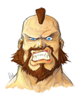 Zangief by WhiteKimahri