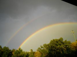 Nature - Double Rainbow by Roxas-Number-XIII