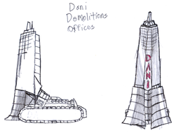 The Dani Demolitions Offices by IrateResearchers