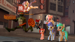 Pizza Chase by TheDandyScout900