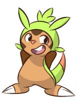 Pokemon XY: Chespin 1 by Stungun44