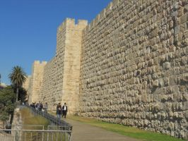 The Walls of Jerusalem by mit19237