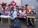 Sonic Plushies. by adamis