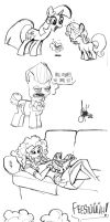 Rotterdam brony meet #2 - doodles by TheArtrix