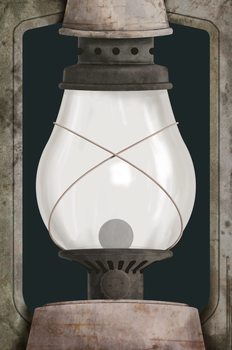 Fancy Shmancy Lamp by KYMSnowman