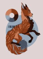 Flat price adoptable wolf (OPEN) by furlana