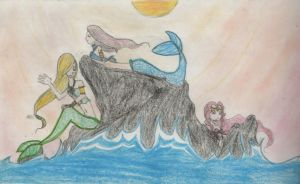 Mermaids by TwickyGirl