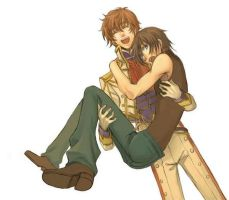 lelouch and suzaku by crystal20130416