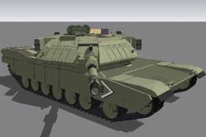 M1A6G abrams wip by louielikespie